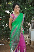 Actress Anjali Rao in Half Saree-thumbnail-14