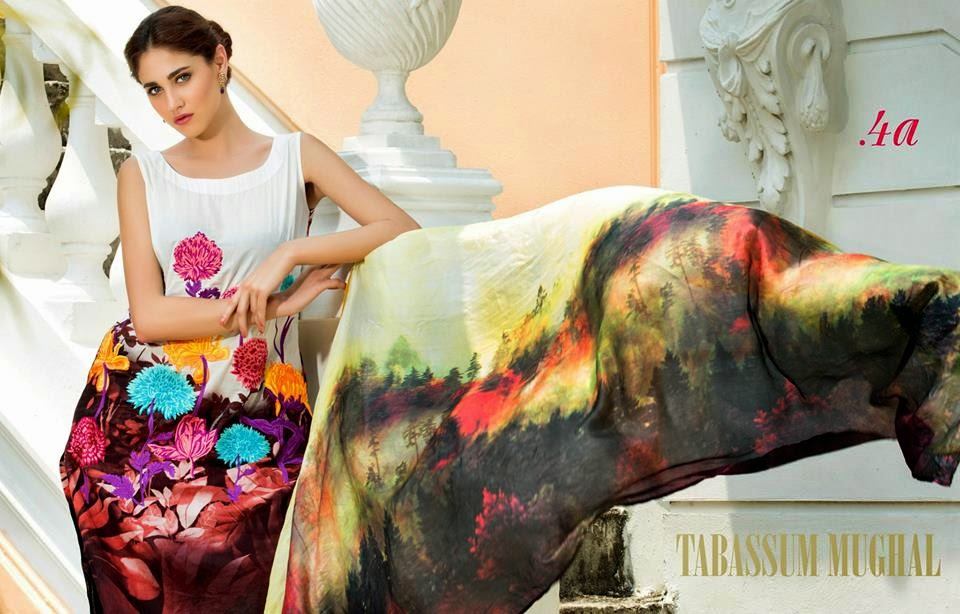Tabassum Mughal Luxury Lawn Collection 2015