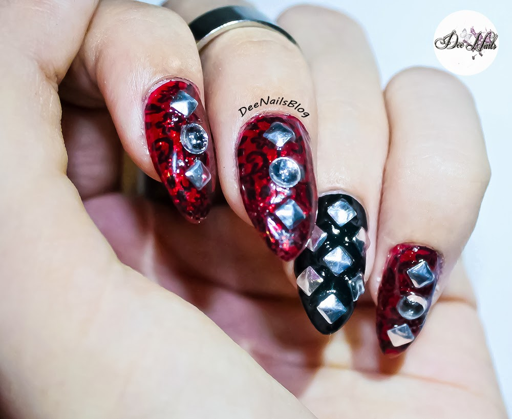 nail designs for new years 2015