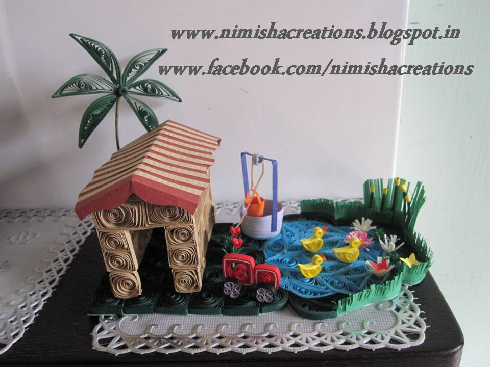 3D Miniature.. Home Is Where The Heart Is.