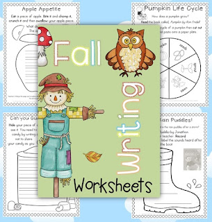 Fall Printable Worksheets Clever Classroom
