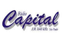 ouvir a Rádio Rádio Capital AM 1040,0 ao vivo e online São Paulo