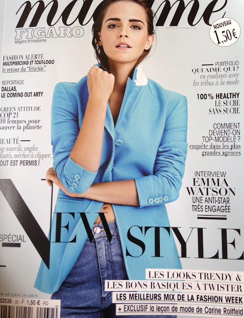 Actress, Model @ Emma Watson - Madame Figaro Magazine, October 2015