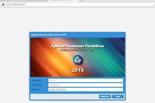 Cara Membuka Dapodikdas 2013 di Browser Lain
