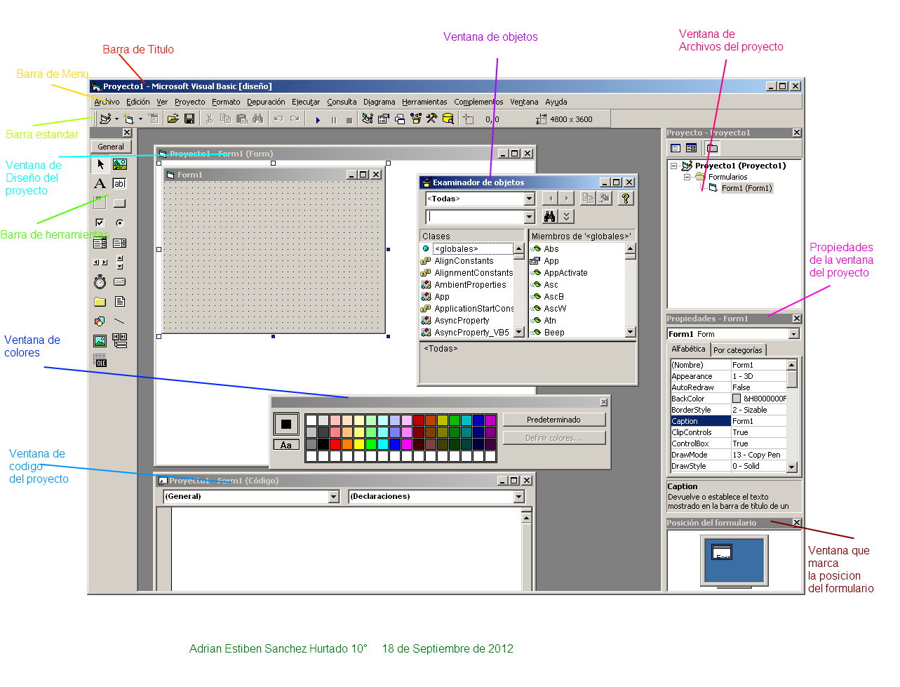 visual basic 6 0 tool bar:
