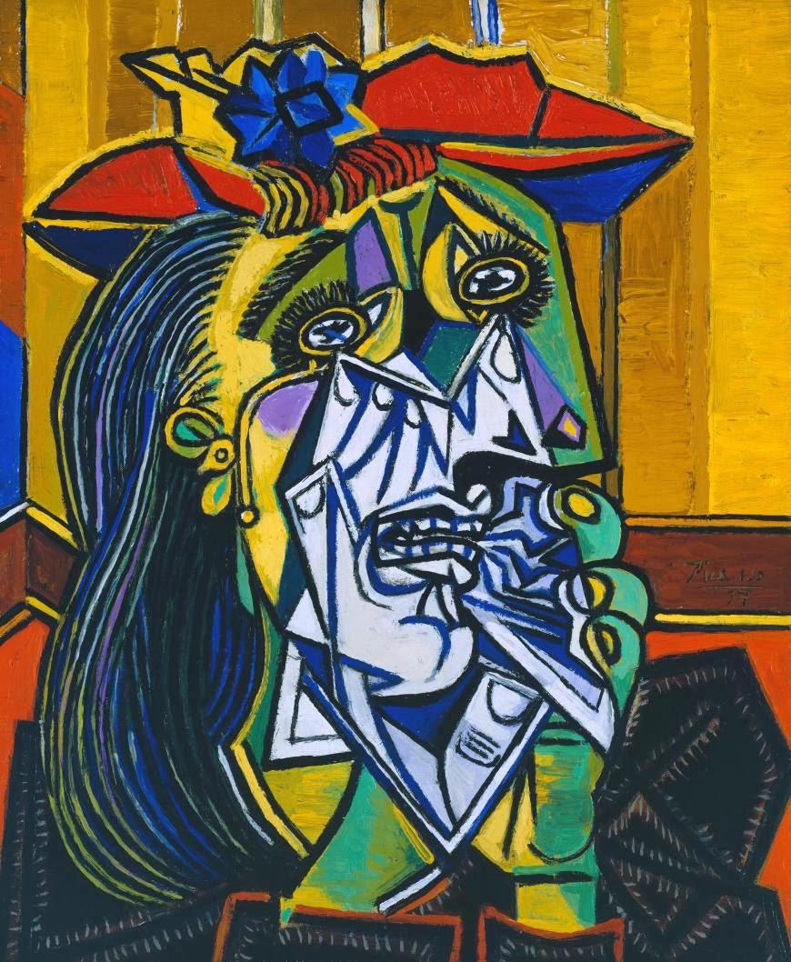 Super Appréciation d'une œuvre : Femme qui pleure de Picasso, 1937 NZ05