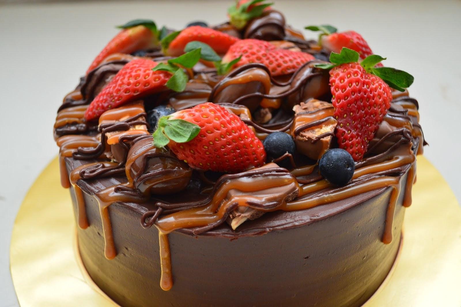 BELGIAN CHOC CAKE