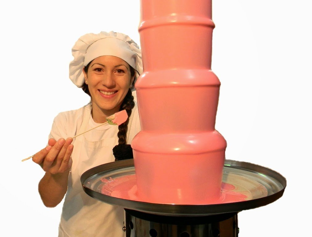 Fuente fondue de chocolate venta modelo ROYAL