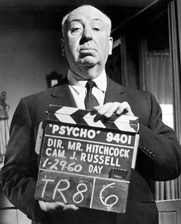 Alfred Hitchcock, director de 'Psicosis', para nuestro Hitos_del_cine. Revista Making Of