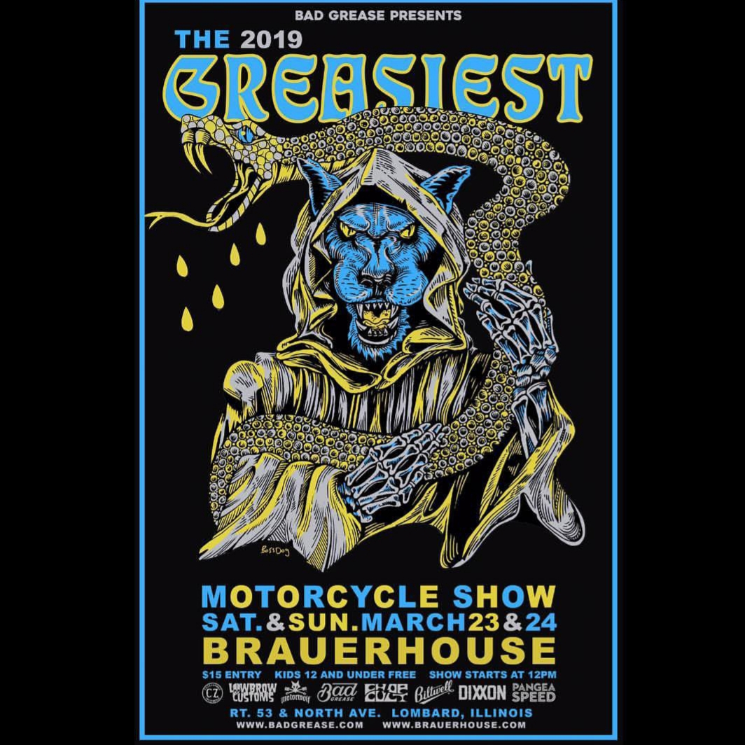 The Greasiest Motorcycle Show