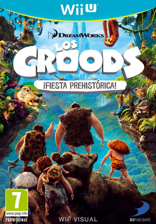 Los Croods - Portada WiiU