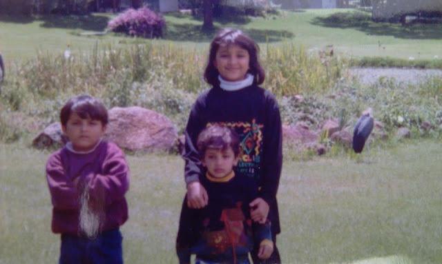 Actress Parineeti Chopra Left With Her Brothers Sahaj Middle Shivang Right