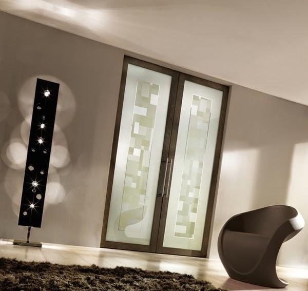 glass door minimalist