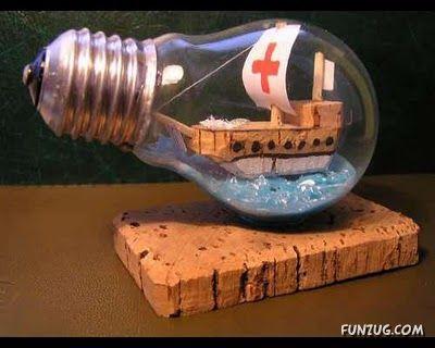 art in a bulb
