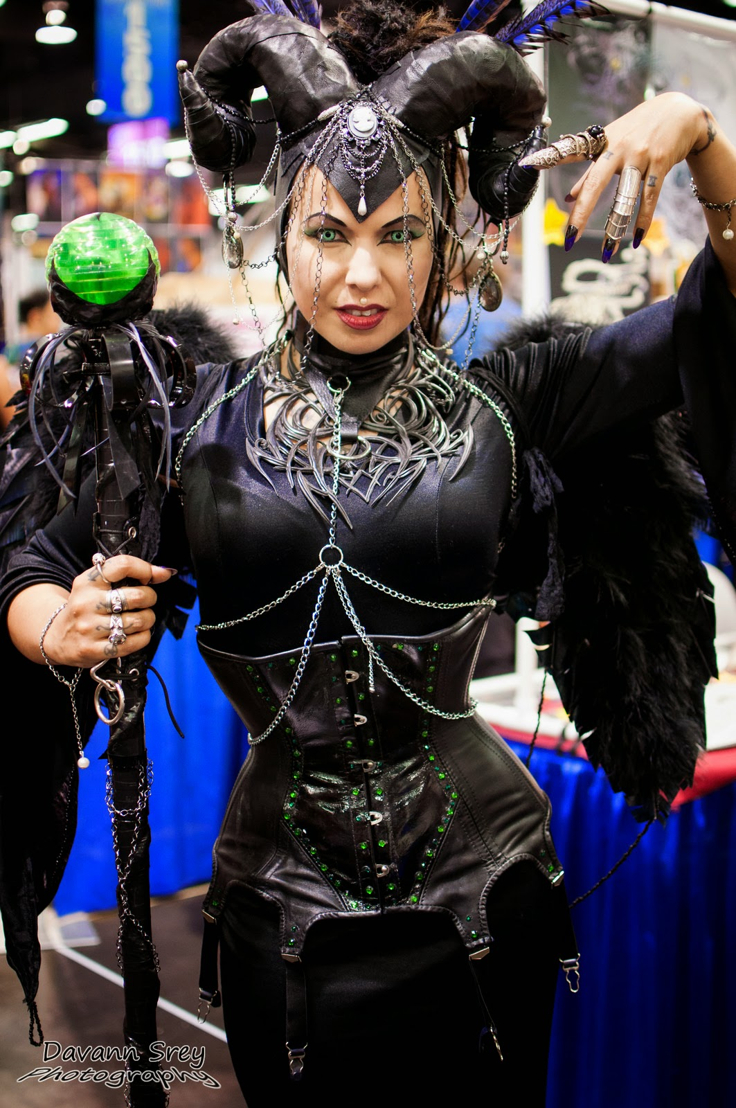 photo de cosplay de la wondercon 2014 de malefique