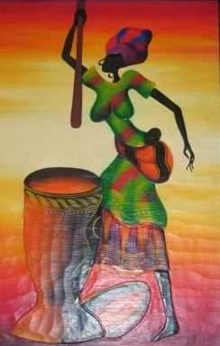 Haitianarts painting mortar Dominican Republic