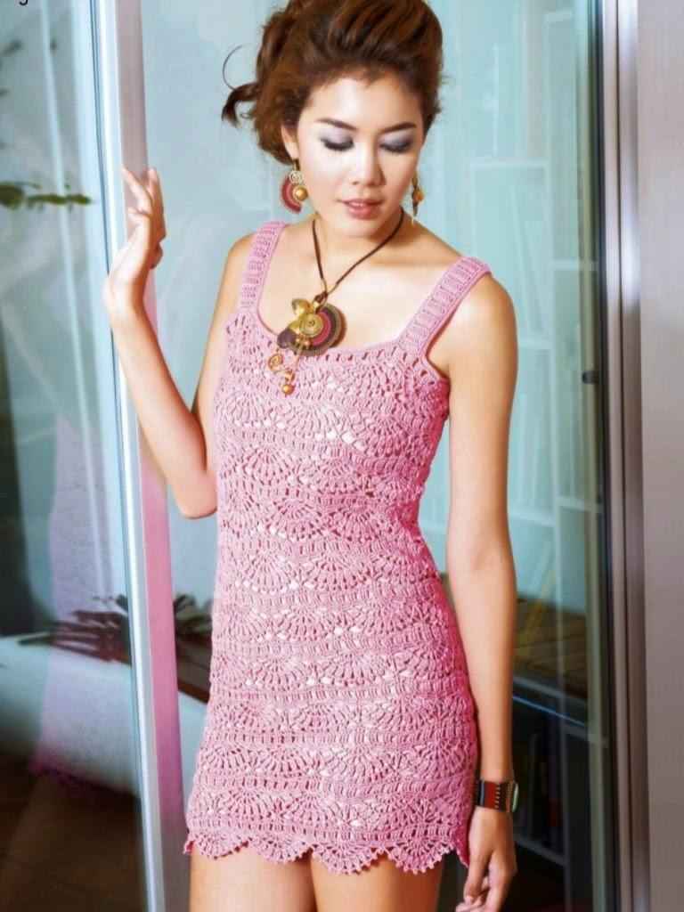 Solero muy femenino al crochet - con patrones