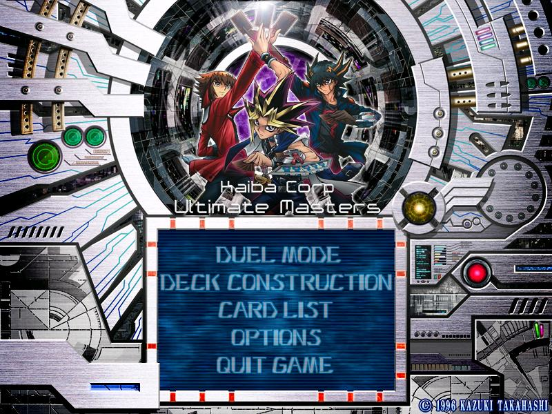 Yu Gi Oh! Kaiba Corp Ultimate Masters MOD