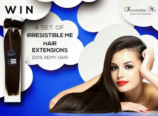 Irresistible Me Hair Extensions Giveaway
