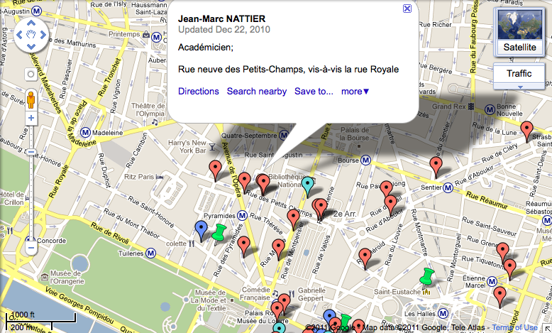 Atelier New Ways Through Old Maps Artistic Communities In Th - Artistic map of paris