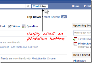 Download Albums from Facebook using PhotoLive Chrome Extension!!