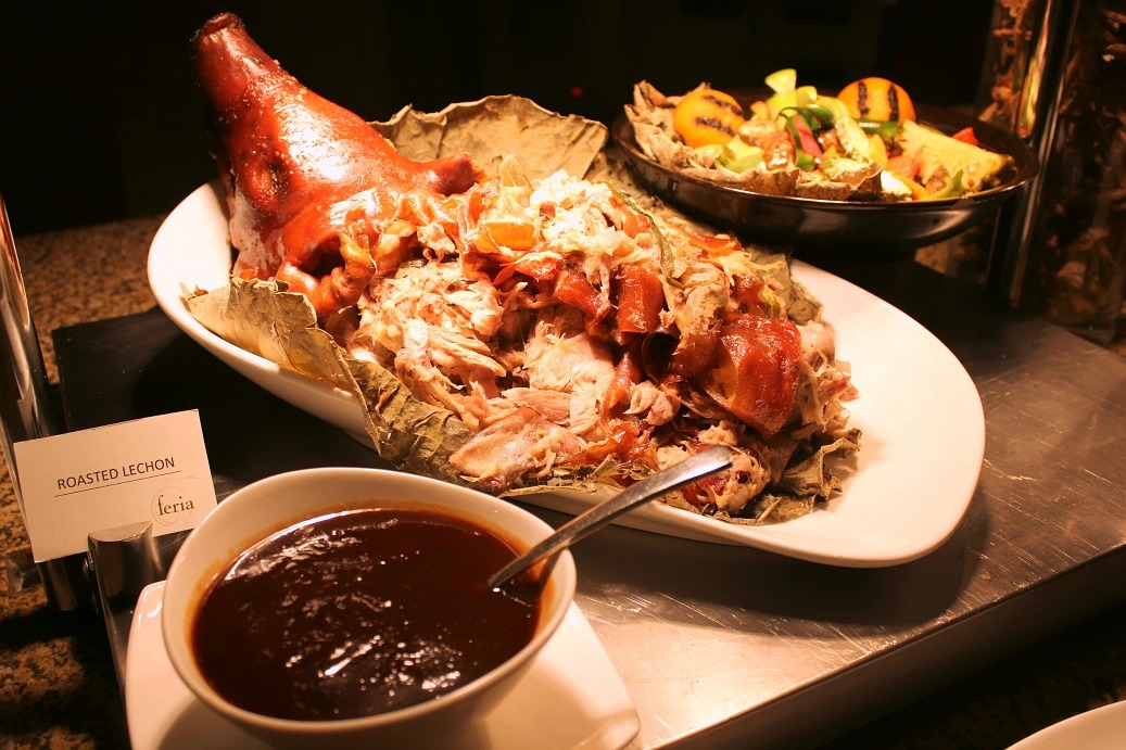 Roasted Duck served with sweet Plum Sauce
