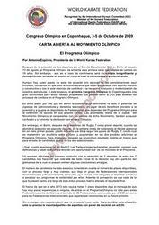 WKF Reglamentos de Albritos 2011