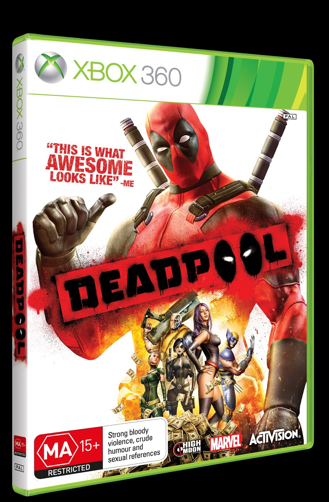 Xbox 360 And Ps3 Games : All star comics melbourne deadpool ps xbox game giveaway