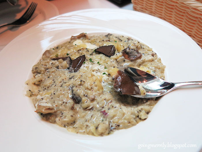 Truffle Mushroom Risotto with Freshly Shaved Truffles
