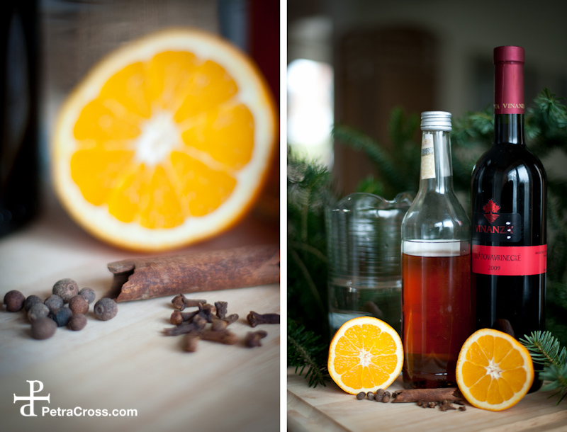 Honey Spiced Mulled Wine