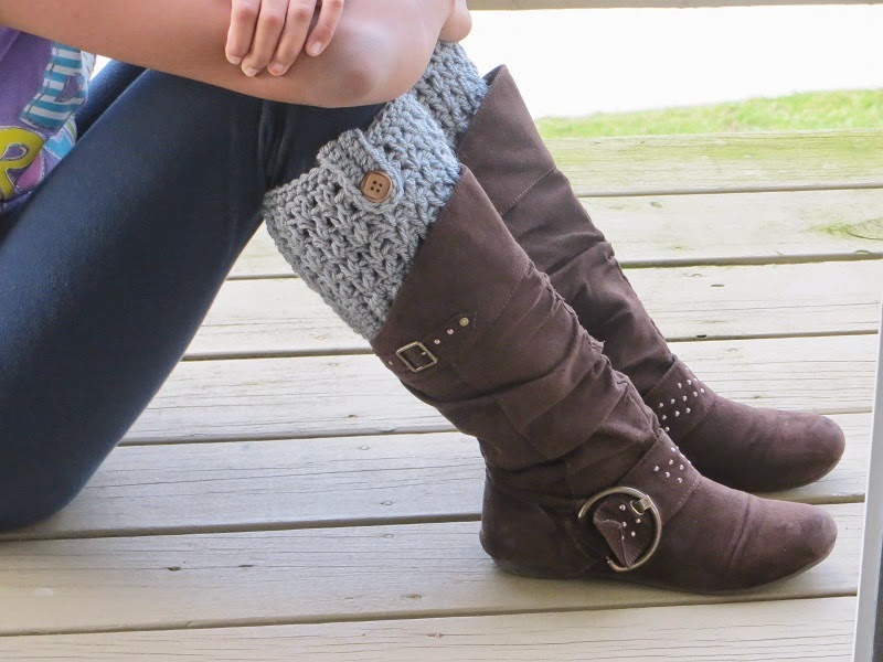 Bailey Boot Cuffs Free Crochet Pattern Crochet Dreamz