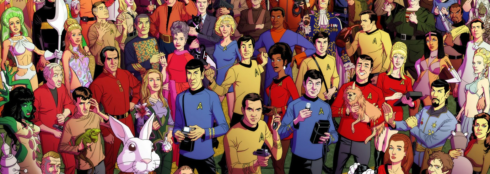 Star Trek: The Original Series by Dusty Abell