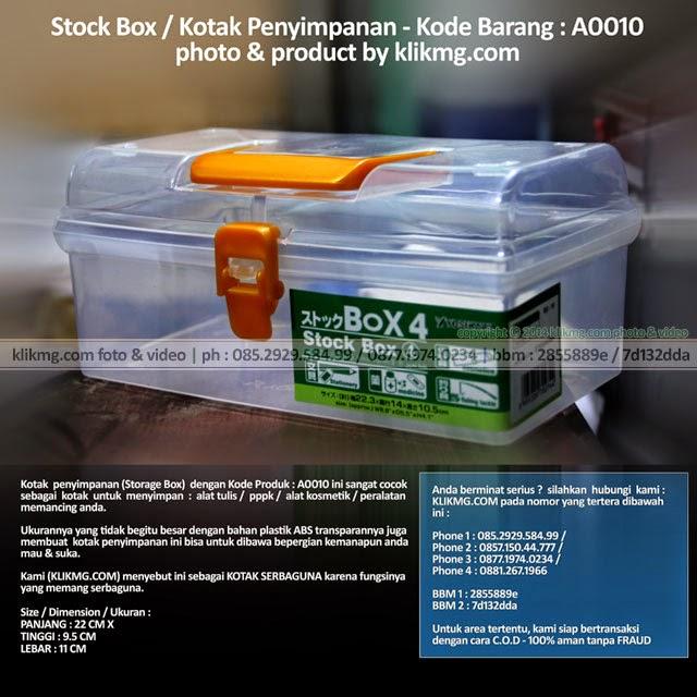 Stock Box / Kotak Penyimpanan - Kode Barang : A0010