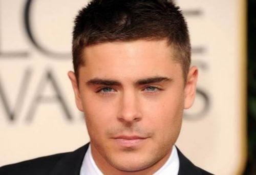 Model Rambut Pendek Untuk Pria Terbaru - Gaya rambut pendek untuk wajah bulat pria