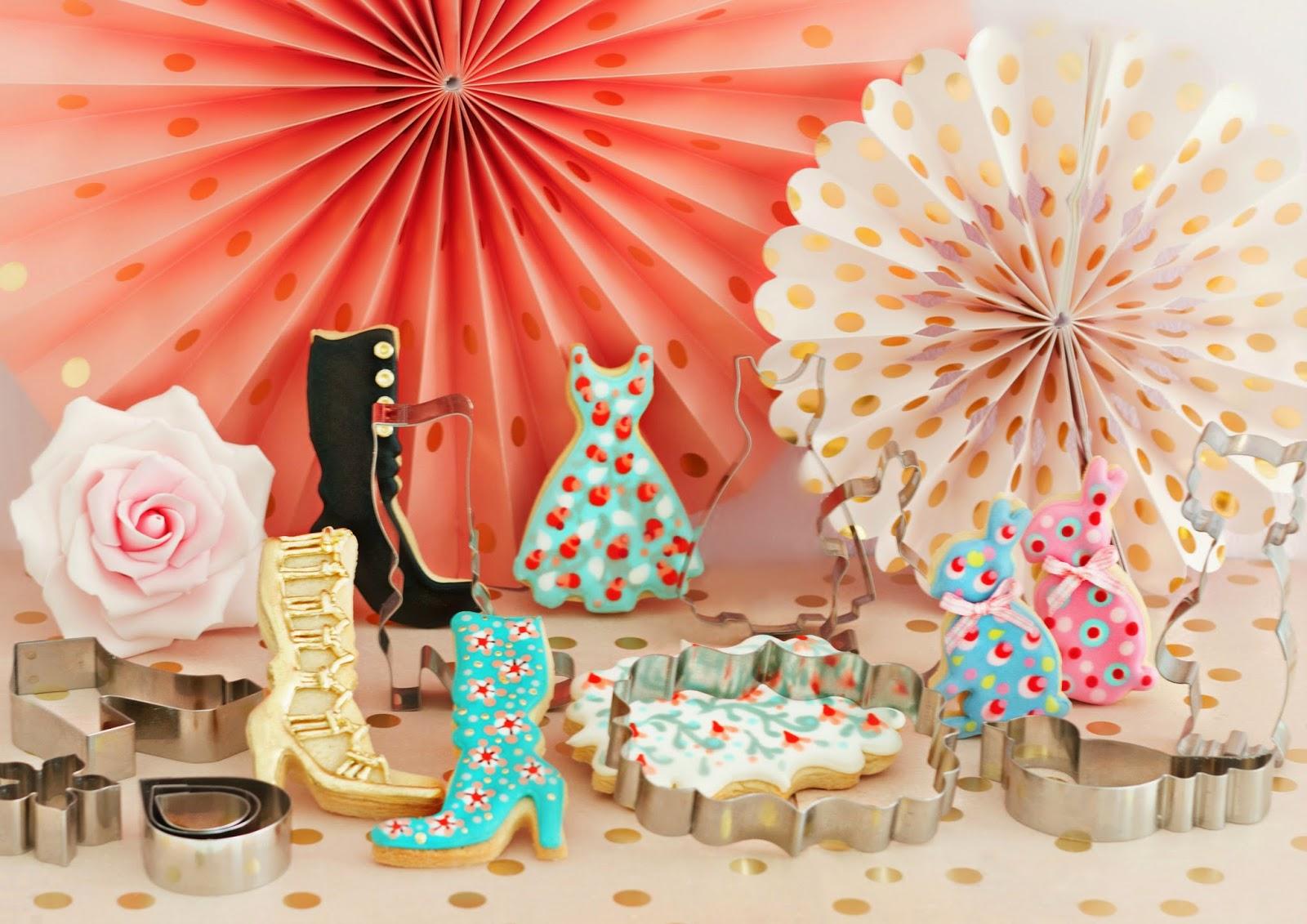 Cortadores de galletas, cortadores de flores