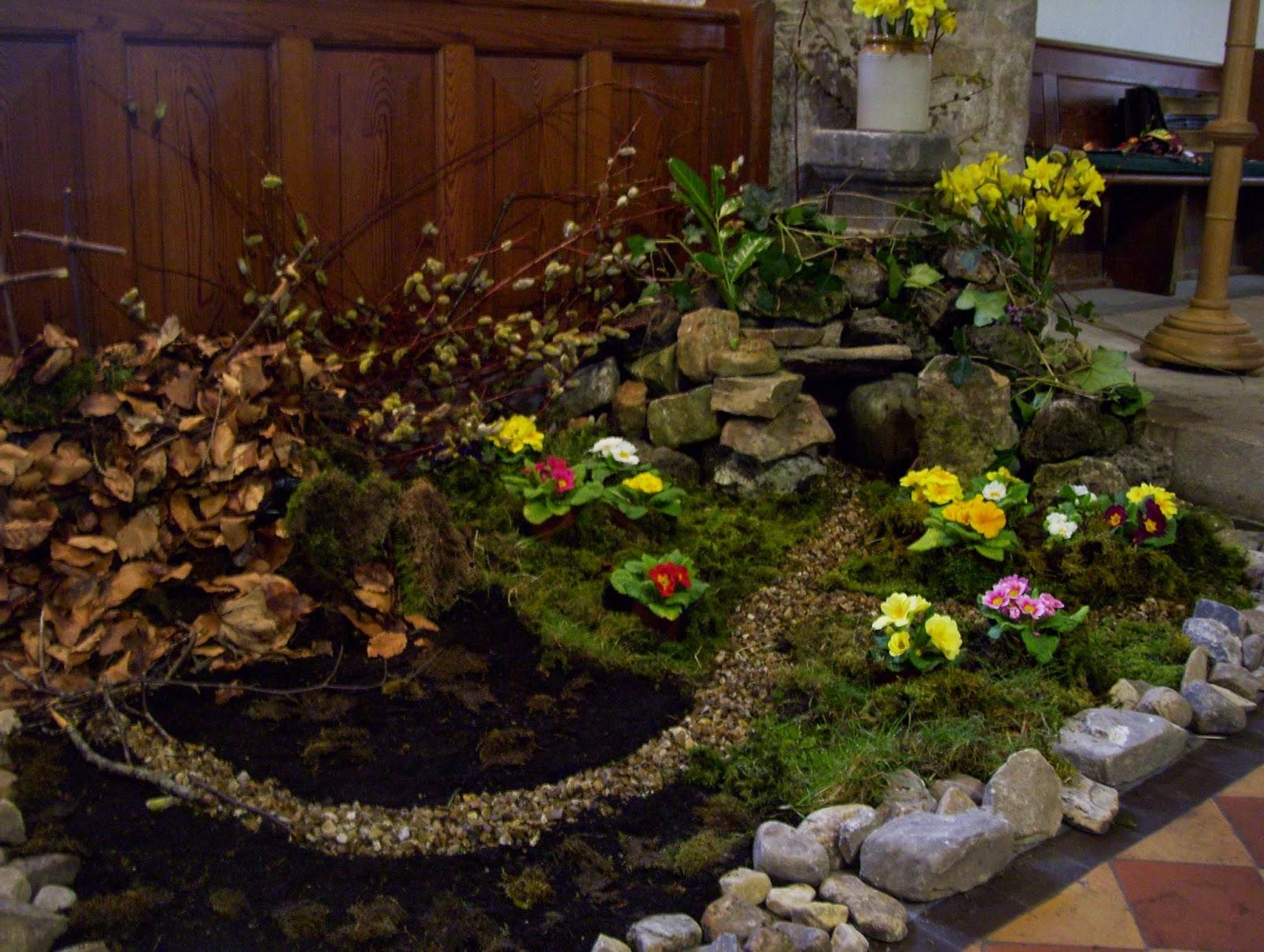 Rev Dr Susan Ramsaran: Messy Church makes the Easter Garden