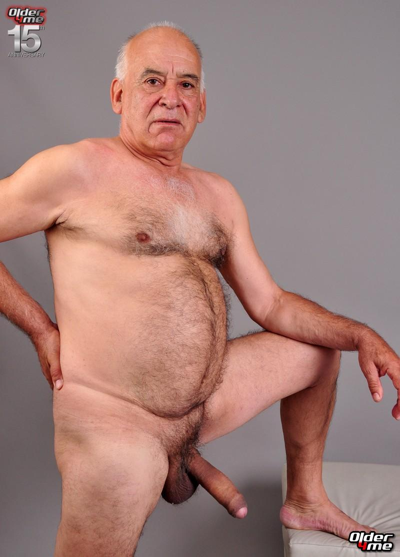 hot old nude men
