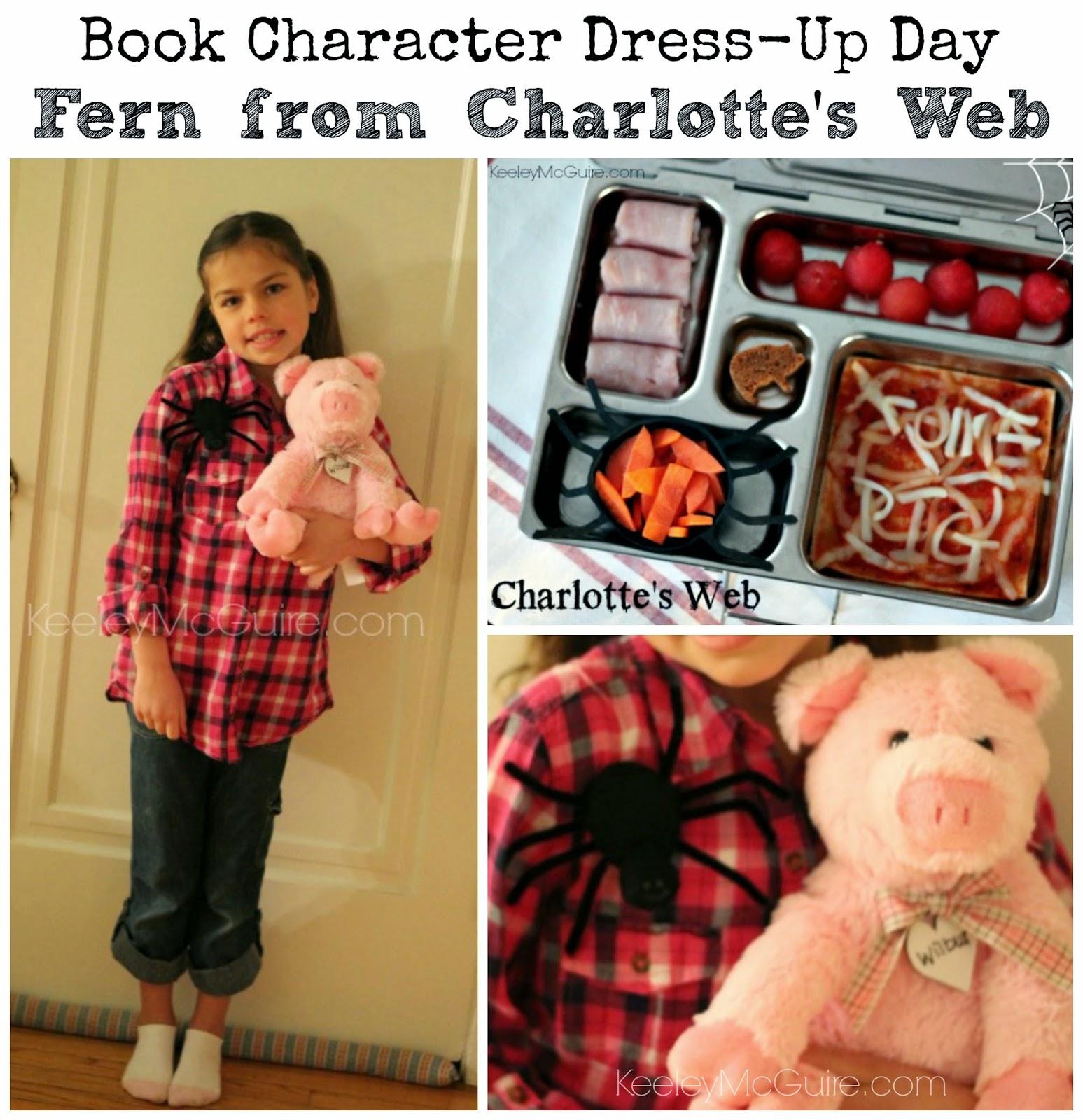 Gluten free amp allergy friendly charlotte s web book character dress
