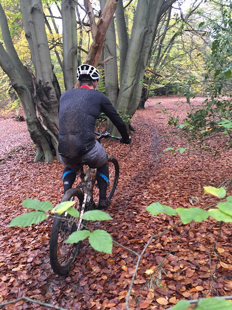Mountain biking Epping Forest Go Further Cycling