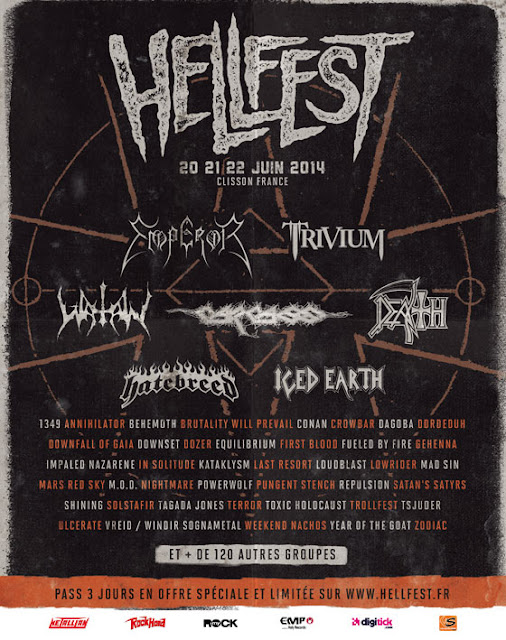 Hellfest 2014 @ Clisson 20,21 & 22/06/2014