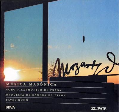 Mozart - Col. El País 250 Aniversario-(2006)-16-Música Masónica-carátula frontal