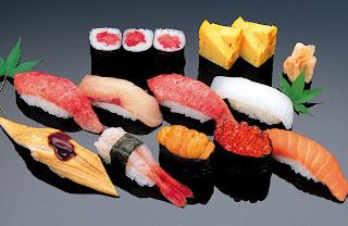 Japanese Menu Sushi
