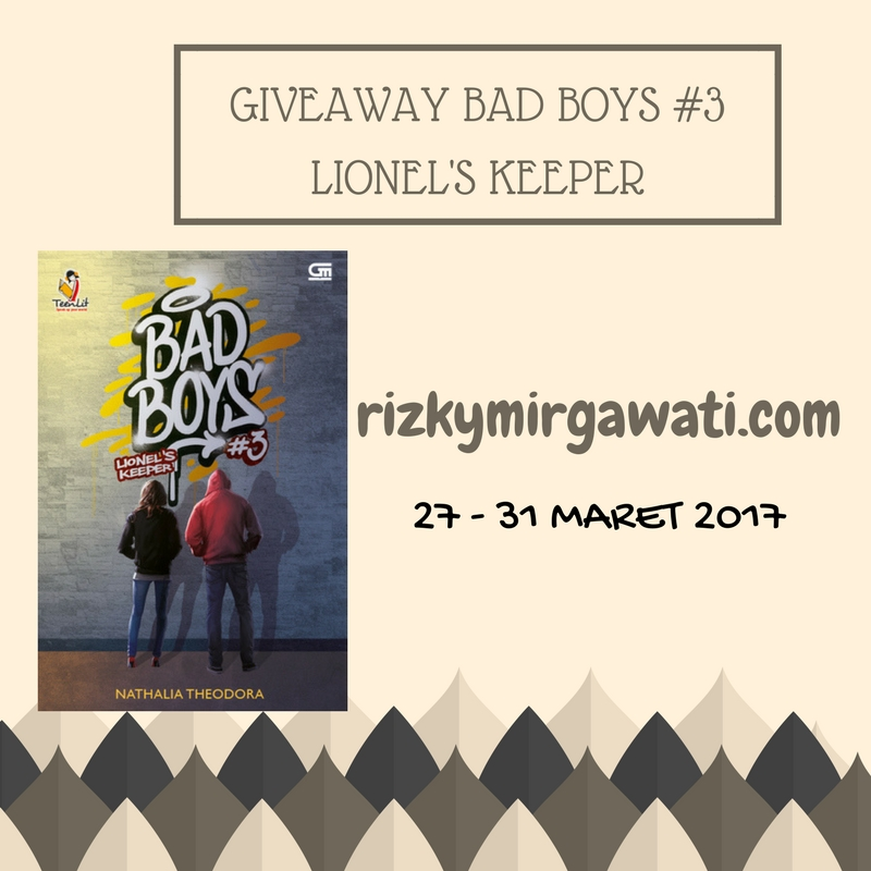 Giveaway Bad Boys #3