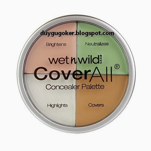WetnWild CoverAll Concealer Palette