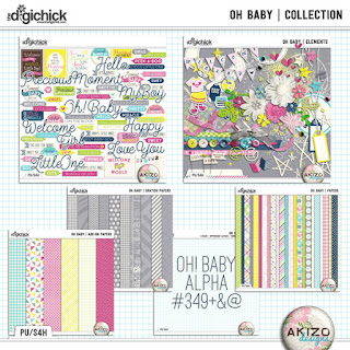 Oh Baby Collection by Akizo Designs