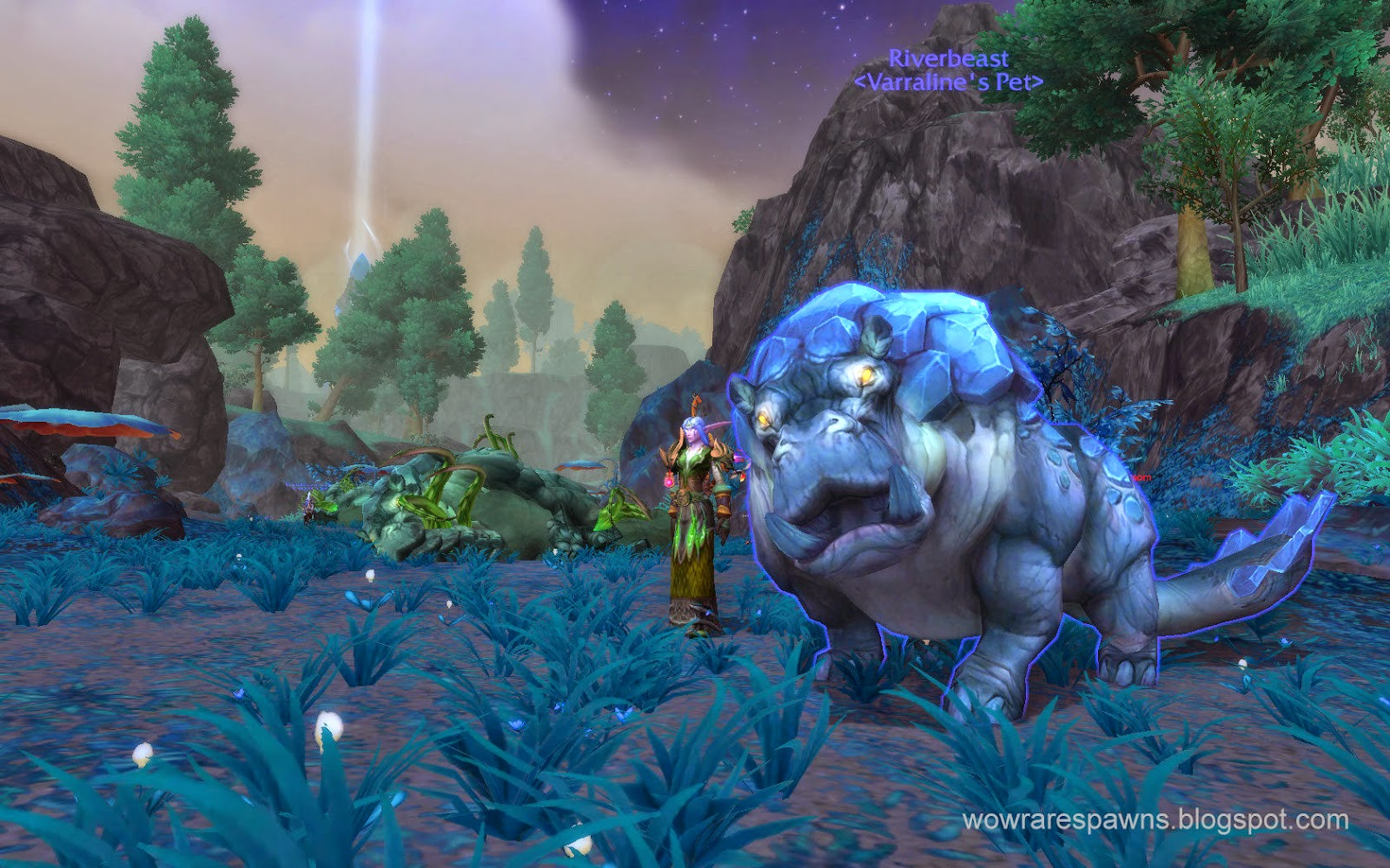 Wod shadowmoon valley screenshots rares amp hunter pet goodness