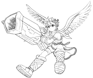 #13 Pit Coloring Page