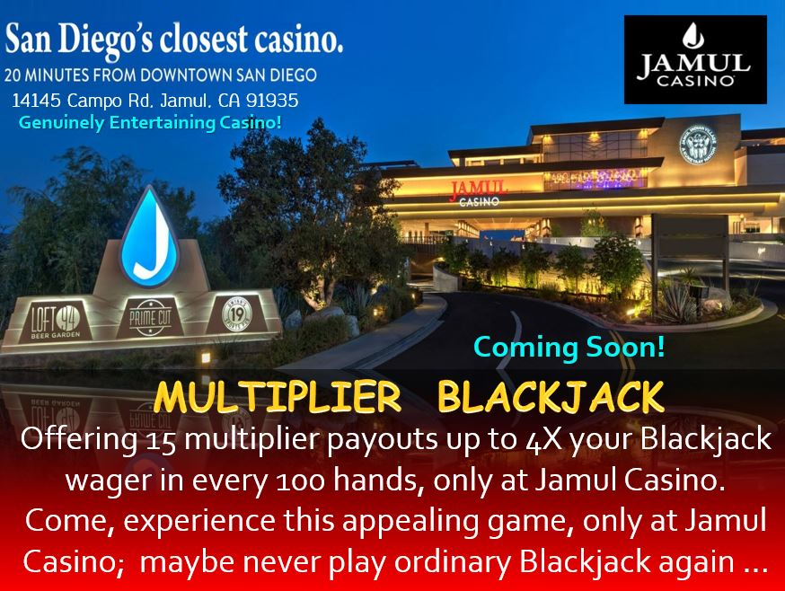 Coming Soon Jamul Casino, Jamul CA