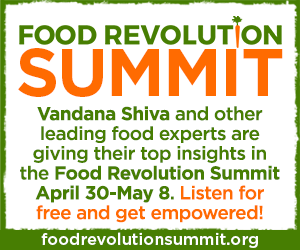 Sign up for the Food Revolution Summit