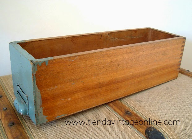 Caja madera para decorar